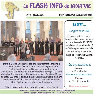 Concert pour Jamavie 2014